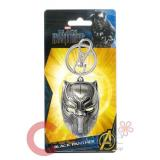 Marvel Black Panther Metal Key Chain Colored Pewter Key Holder