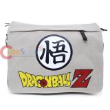 Dragon Ball Z Canvas Messenger Bag Beige