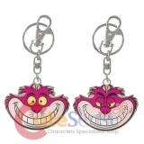 Alice in Wonderland Cheshire Cat Key Chain 2 Side