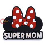 Disney Minnie Mouse PVC Magnet Super Mom