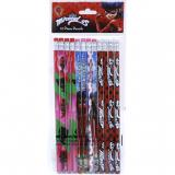 Miraculous Ladybug Pencil Set 12pc