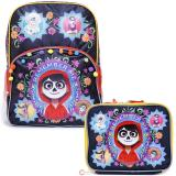 Coco Large School Backpack Lunch Bag Set