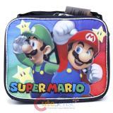 Nintendo Super Mario School Lunch Bag Insulated Box - Sub Black