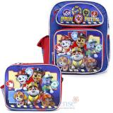 "Paw Patrol  12"" Small School Backpack Lunch Bag 2pc Set - Teamwork"