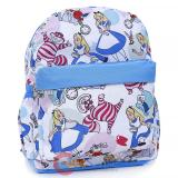 "Alice in Wonderland  AOP 12""  School Backpack"