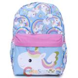 Unicorn Large School Backpack Pink