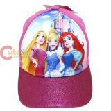 Disney Princess Cap Adjustable Pink Hat 3D POP
