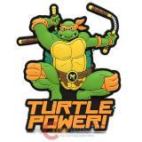 TMNT Teenage Mutant Ninja Turtles Soft Touch PVC Magnet Michelangelo