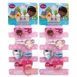 Disney Jr. Doc Mcstuffins Hair Ponies Set Hair Accessories Set