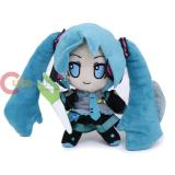 Hatsune Miku Plush Doll 7in Hanging Toy