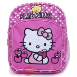 Sanrio Hello Kitty Toddler School Backpack 10in Bag Bear Apple