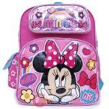 "Disney Minnie Mouse School Backpack 12"" Bag Hi Cute"