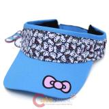 Sanrio Hello Kitty Sports Visor Cap Blue