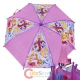 Disney Princess Pink Kids Umbrella : Bell Cinderella Snow White with Aurora Handle