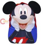 Disney Mickey Mouse Baseball Cap Hat with Ear