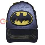 DC Comics Batman Logo Kids Hat 3D Pop Caps