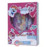 My Little Pony Secrets Diary Note Set with Lock