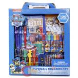 Paw Patrol Coloring Set 100pc