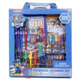 Paw Patrol Coloring Set 100pc