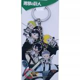 Attack on Titan 5 Charms Metal Key Chain