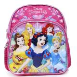 "Disney Princess Toddler School Backpack Floral  10"" Mini Bag - Pink Floral"