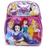 "Disney Princess School Backpack Floral  12"" Medium Bag"