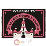 Super Mario Princess Peach Peach's Castle Door Mat