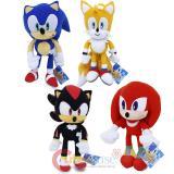 Sega Sonic Shadow 12in Plush Doll Set