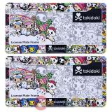 Tokidoki License Plate Frame 2pc Set