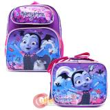 "Disney Vampirina 12"" School Backpack Lunch Bag 2pc Book Bag Set"