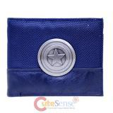 Captain America Wallet Metal Shield Badge