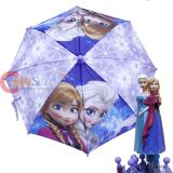 Disney Frozen Elsa AnnaKids Umbrella with 3D Sister Figure Handle