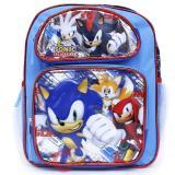 Sonic The Hedgehog 12in School Backpack Book Bag