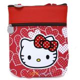 Sanrio Hello Kitty Passport Body Cross Bag Red