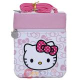 Sanrio Hello Kitty Passport Body Cross Bag Pink