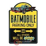 DC Comics Batman Batmobile Parking Sign