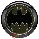 DC Comics Batman Embossed Tin Button Sign