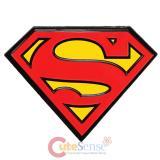 DC Comics Superman Logo Embossed Tin Magnet