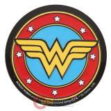 DC Comics Wonder Woman Logo Embossed Tin Magnet