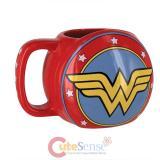 Wonder Woman Shield Mug