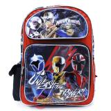 Power Rangers Large School Backpack 16in Book Bag - Unleash