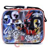 Power Rangers School Lunch Bag Snack Insulated Box -Unleash
