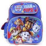 "Paw Patrol  Medium School Backpack 12"" Boys Bag - Team Pups"
