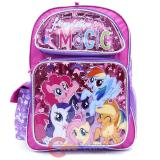 "My Little Pony 16""  School Backpack Large Book Bag -Friendship Magic"