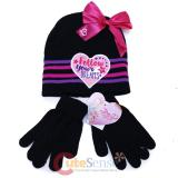 Nickelodeon JoJo Siwa Girls' Beanie Hat Glove Set