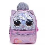 LOL Surprise Small School Backpack Pink Sequins