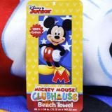 Disney Mickey Mouse Cotton Beach, Bath Towel -M Mickey