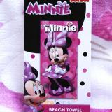 Disney Minnie Mouse Beach, Bath Towel Happy Helper
