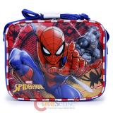 Marvel Spiderman School Lunch Bag Snack Box