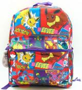 Pokemon Eevee Evolution All Over Prints School Backpack